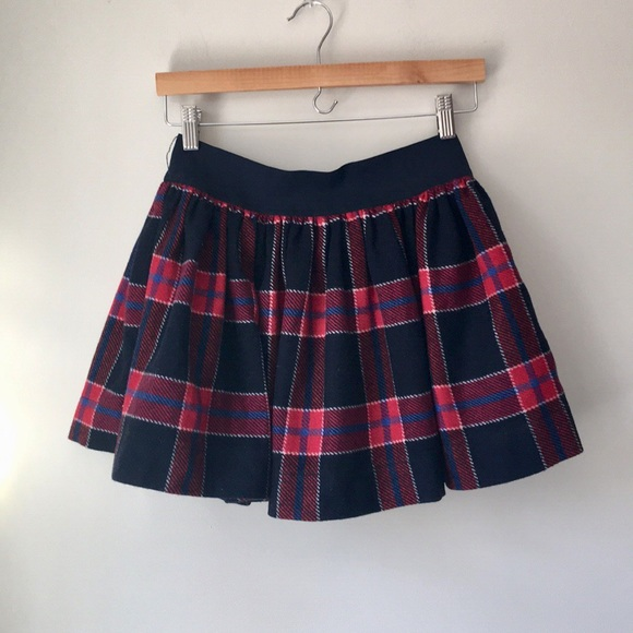 21db1dce6e Abercrombie & Fitch Skirts | Abercrombie Fitch Plaid Wool Skater ...